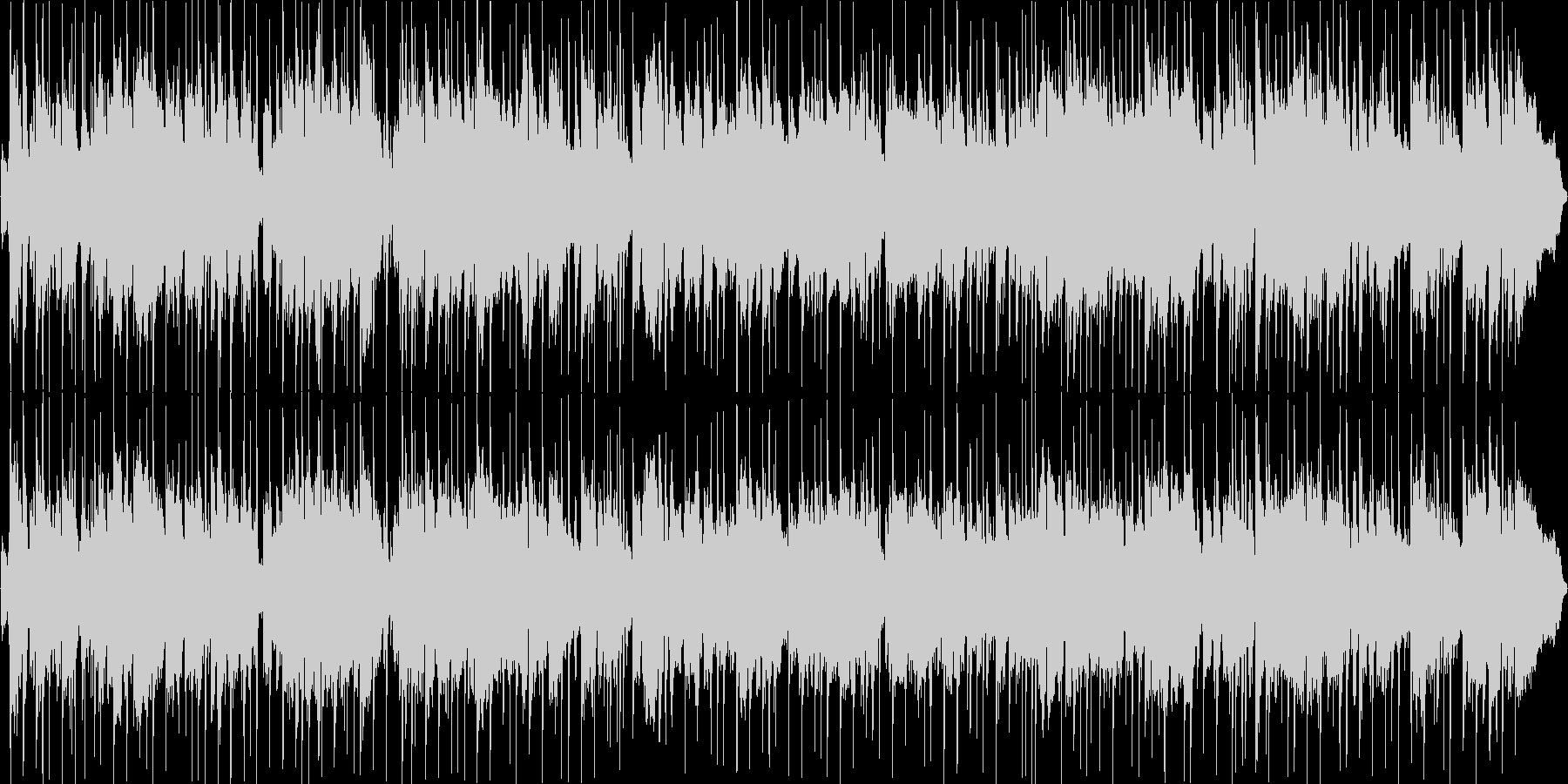 サックスが印象的、ジャズポップバラードの未再生の波形