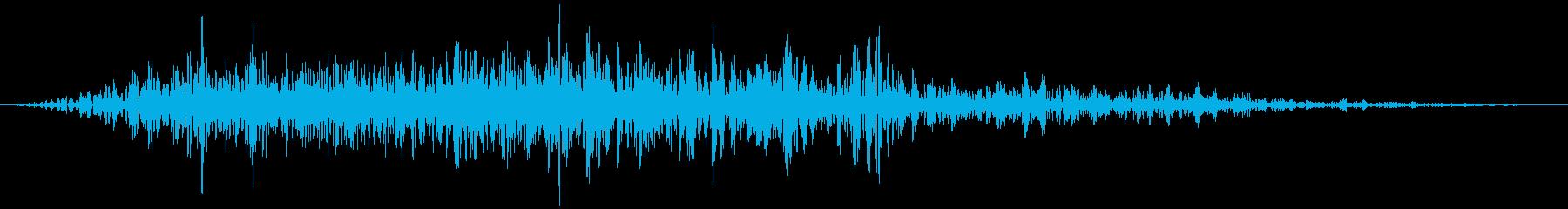 ドラゴン・クラックの再生済みの波形