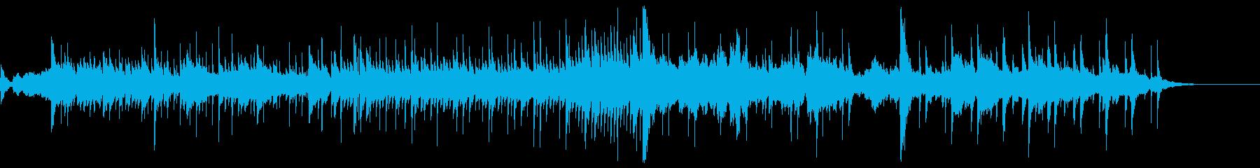 全体的に美しいバランスの曲調の再生済みの波形