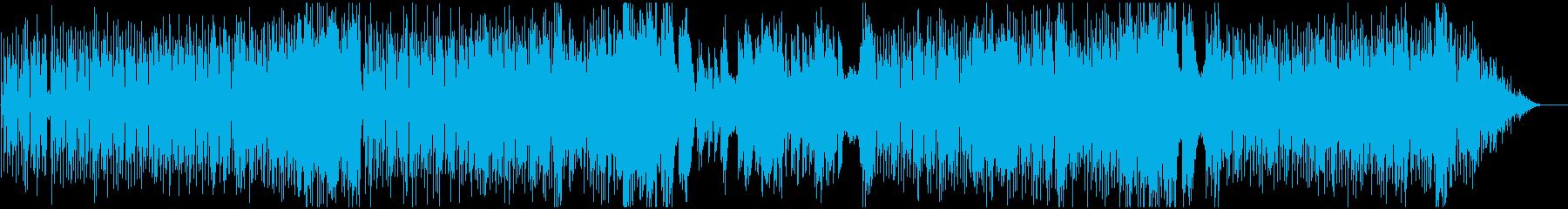ハーフシャッフルフュージョンの再生済みの波形