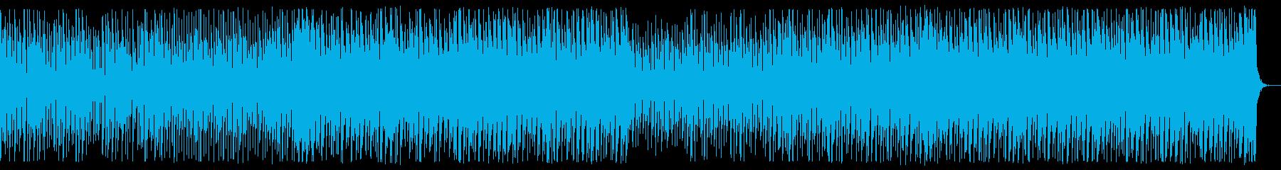 前向きなエレクトロ。ストリングスなし。の再生済みの波形