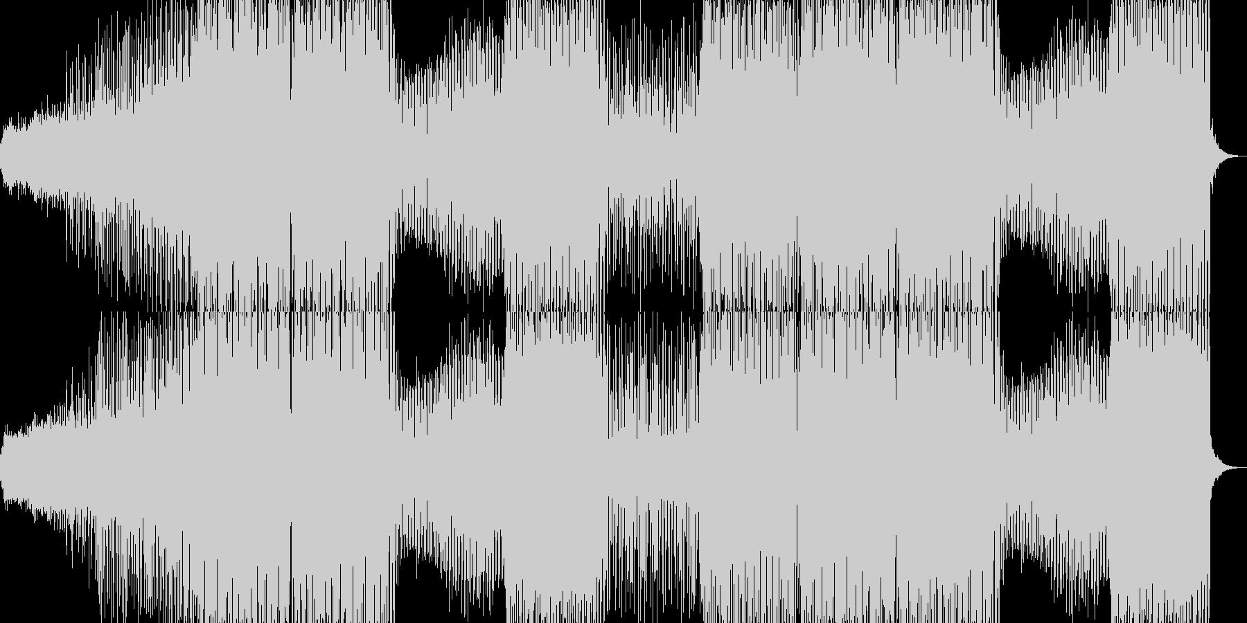 エネルギッシュでファンキーなダンス音楽の未再生の波形