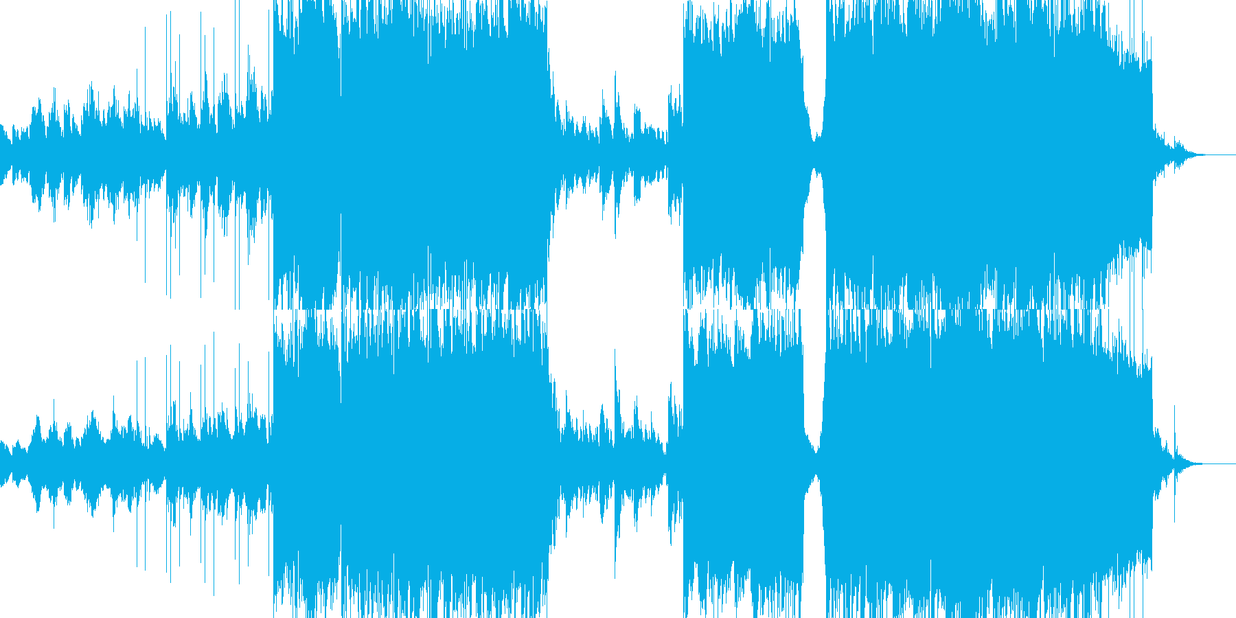 三味線とピアノの織り成す和楽と洋楽の融合の再生済みの波形