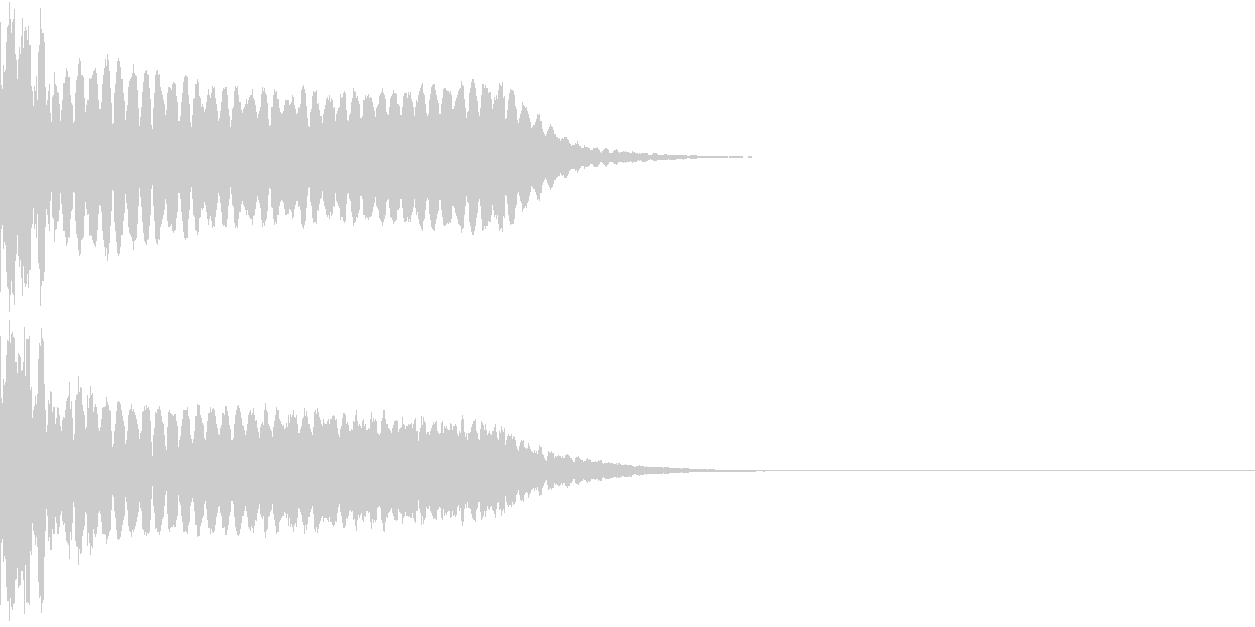 キュイン ボタン ピキーン キーン 31の未再生の波形