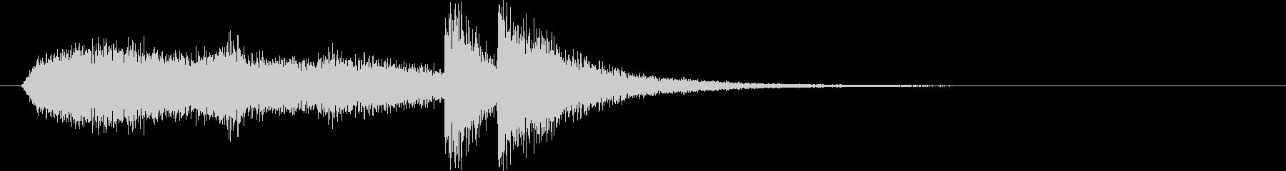 コミカルなシンセサイザーなど短めサウンドの未再生の波形