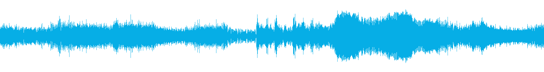 ざわざわとした緊張感のホラー系BGM の再生済みの波形
