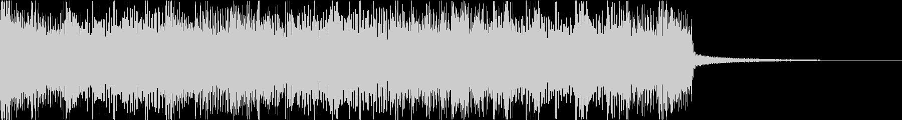 激しいゴリゴリロック♪バトル♪ジングル3の未再生の波形