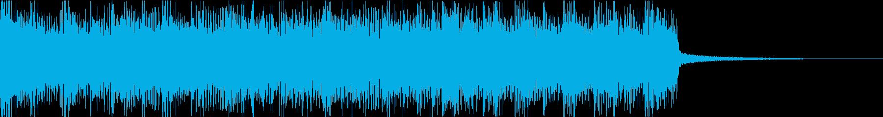 激しいゴリゴリロック♪バトル♪ジングル3の再生済みの波形