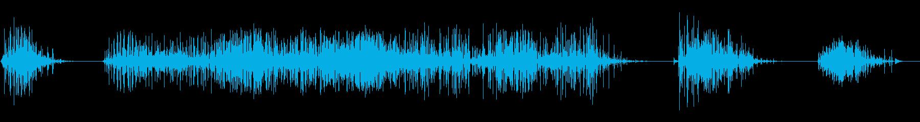 ショート、ロング、ボールダー&ミッ...の再生済みの波形