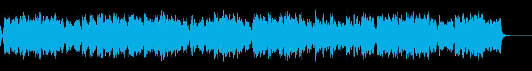 ヒーリング効果が期待できるオーケストラbの再生済みの波形