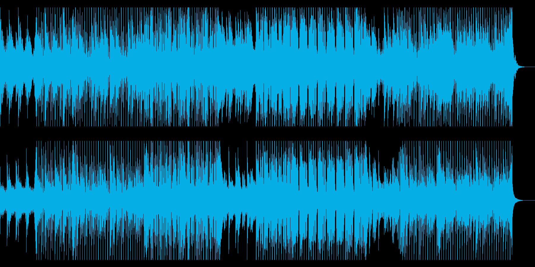切なく美しい印象のバラードの再生済みの波形