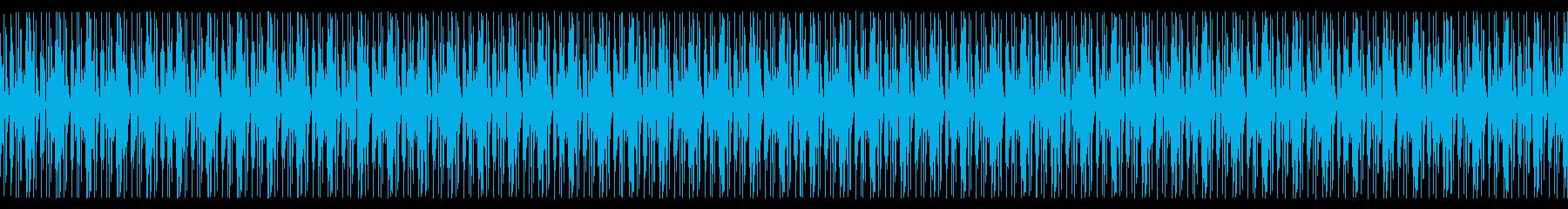 トラップの再生済みの波形