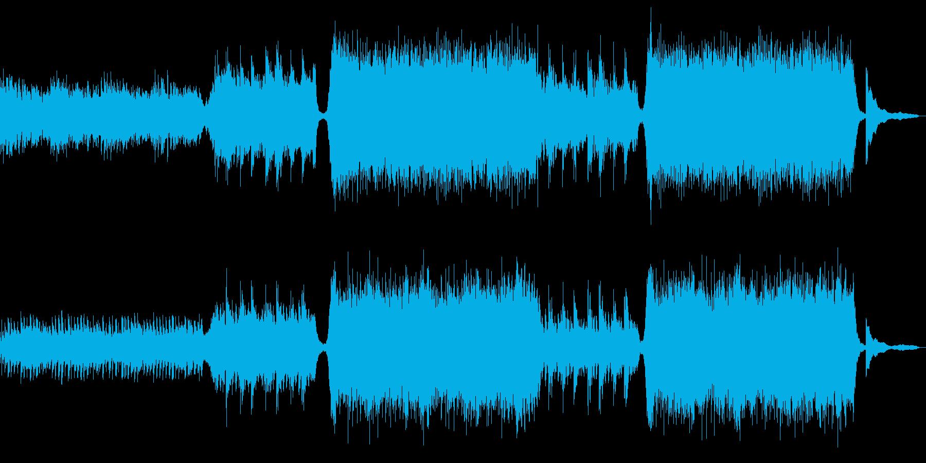 CM向けシネマティックオーケストラの再生済みの波形