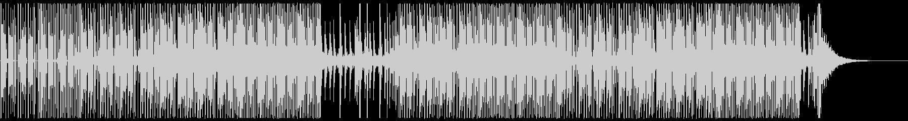 ダークでクールなEDMトラップの未再生の波形