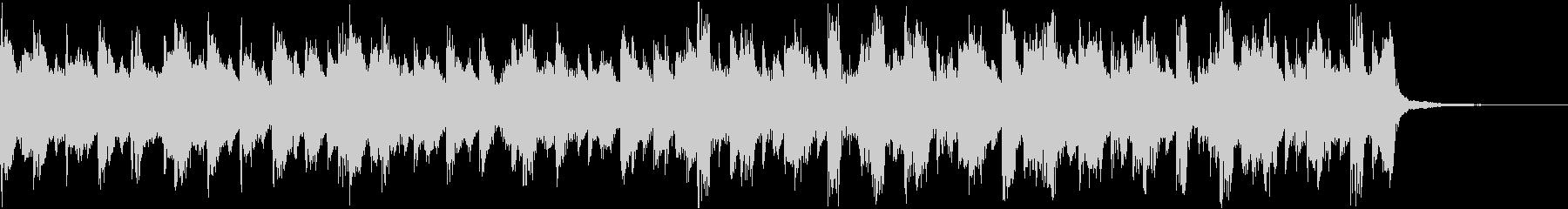 きらきらピアノ企業VPコーポレートeの未再生の波形