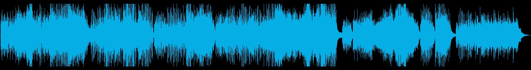 クラシックピアノ名曲「水の戯れ」ラヴェルの再生済みの波形