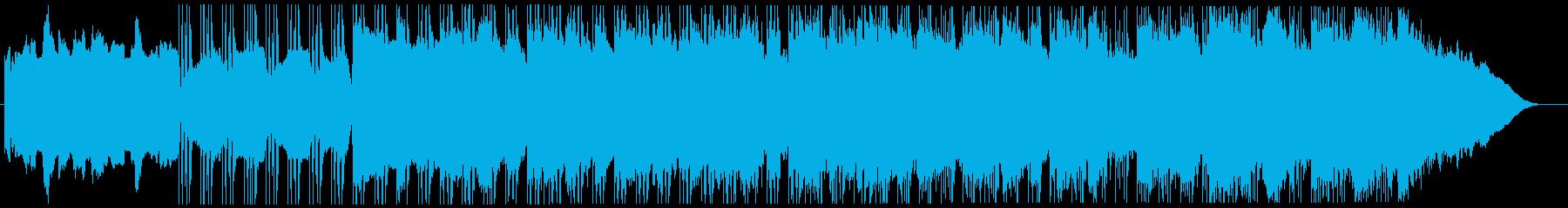 モダンでムーディーでミステリアスな...の再生済みの波形