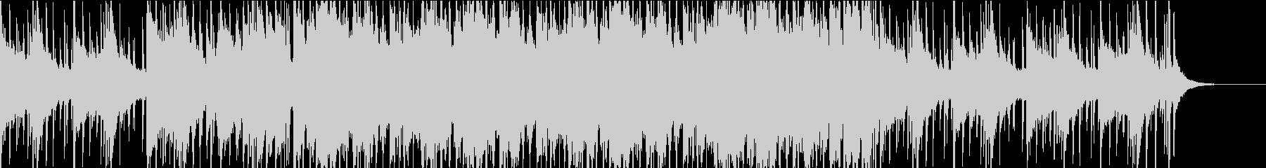 感動的なチルビートの未再生の波形