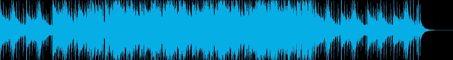 感動的なチルビートの再生済みの波形