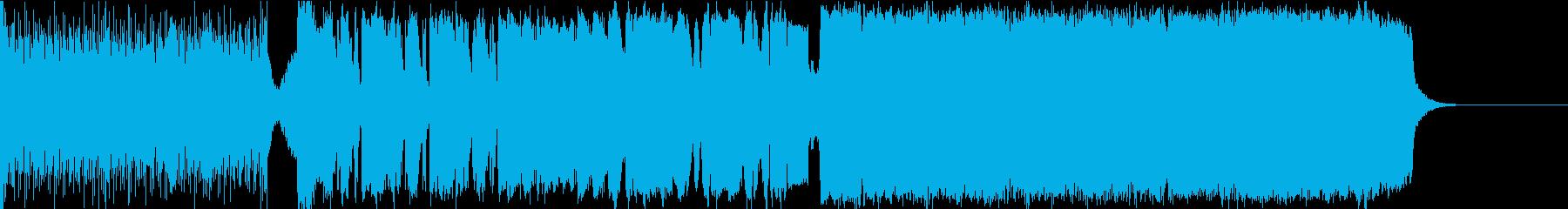 壮大なエピック ヴォーカライズとクワイヤの再生済みの波形