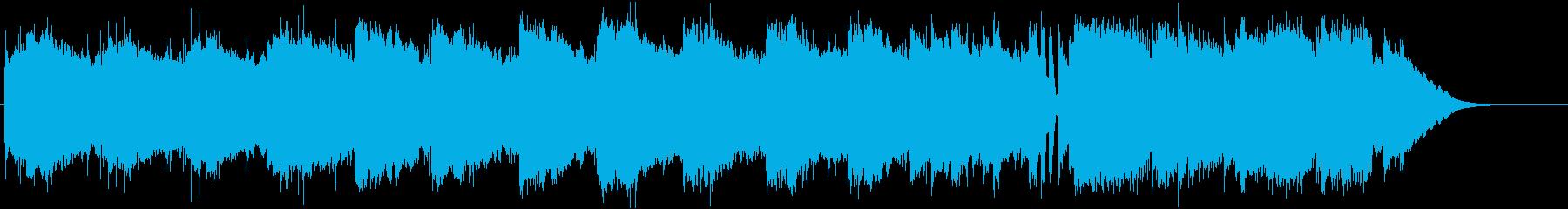 キラキラグロッケン、素朴なリードギターの再生済みの波形