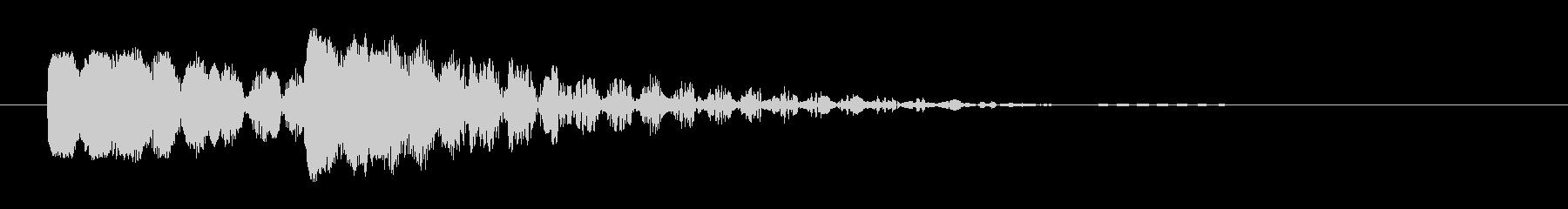 ビュビュン 射撃音2 (ゲームっぽい音)の未再生の波形