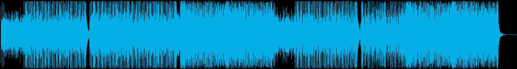 エモーショナル-PVなどエレクトロロックの再生済みの波形