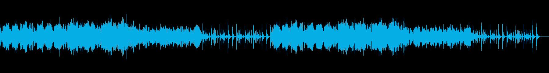 お正月をイメージした琴と尺八のBGMの再生済みの波形