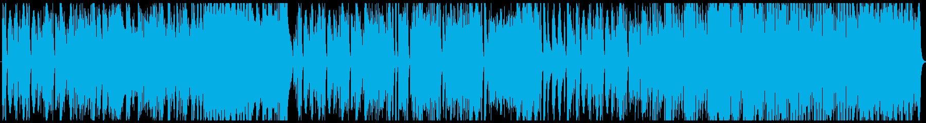 ゆったりとしたピアノ曲。の再生済みの波形