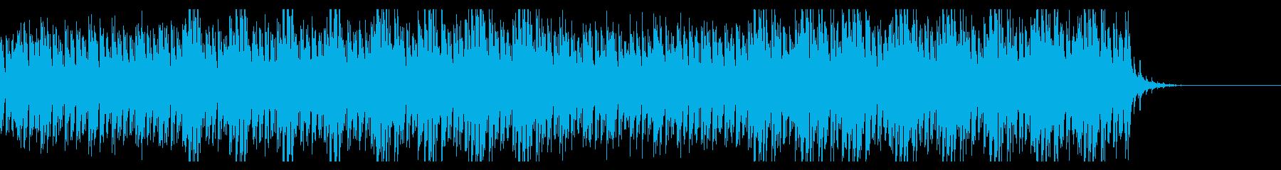 異変に気づいて、思考を巡らせるBGMの再生済みの波形