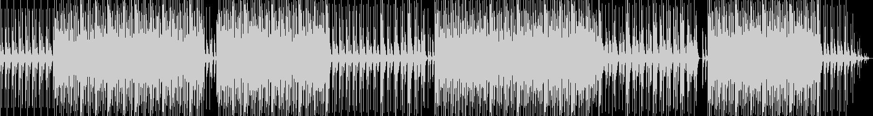 明るめアシッドジャズの未再生の波形