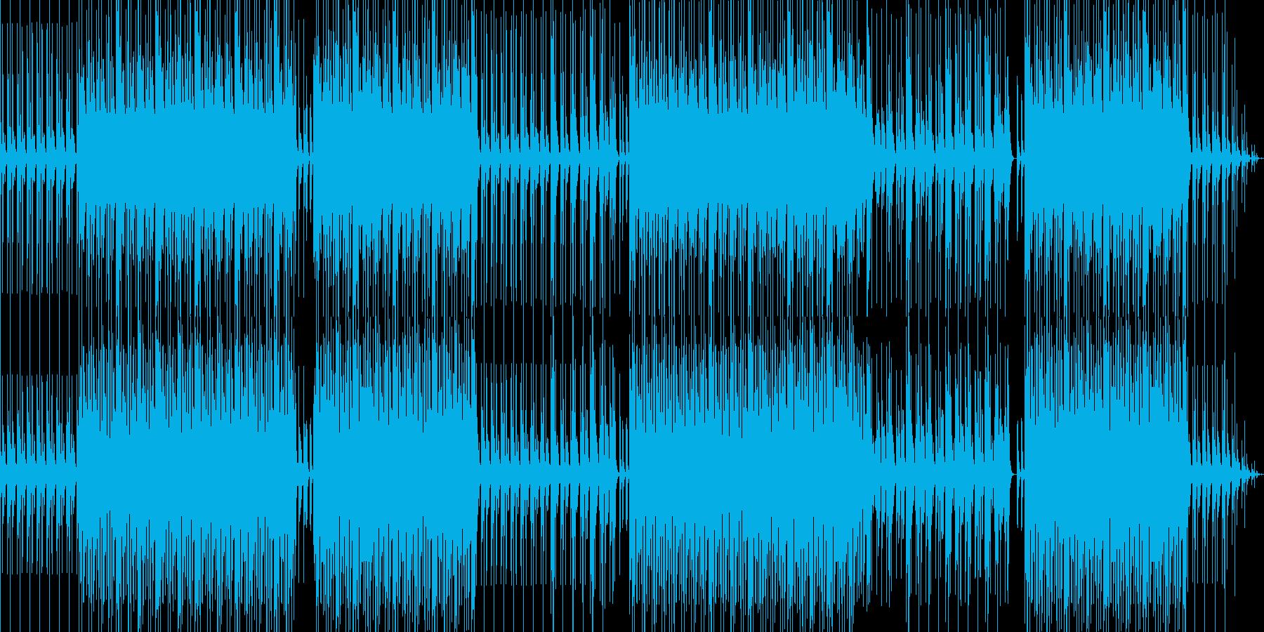 明るめアシッドジャズの再生済みの波形