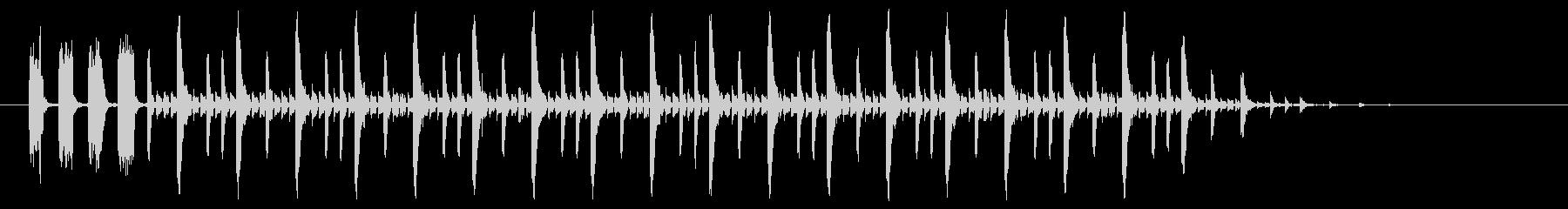 音楽電子クールグルーヴ-ミュージカ...の未再生の波形