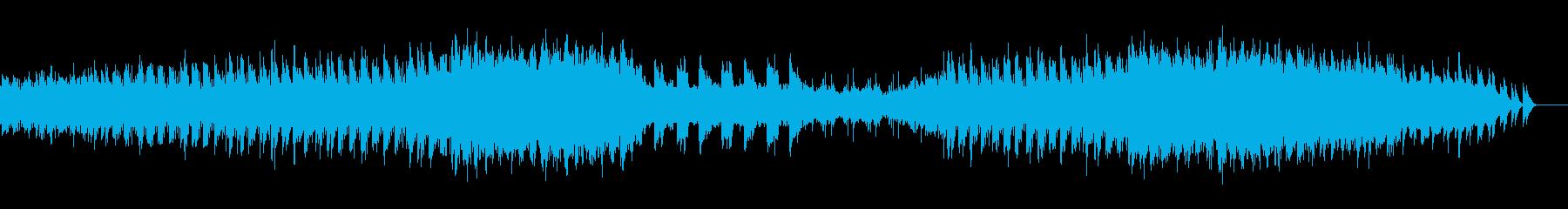 映画のエンディングロールのような-09の再生済みの波形