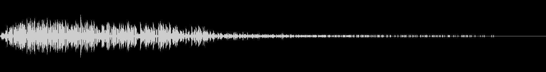 Noise デジタルノイズ 燃える 撃墜の未再生の波形