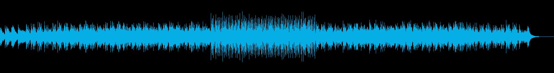 夏の明るくリズミカルなポップサウンドの再生済みの波形