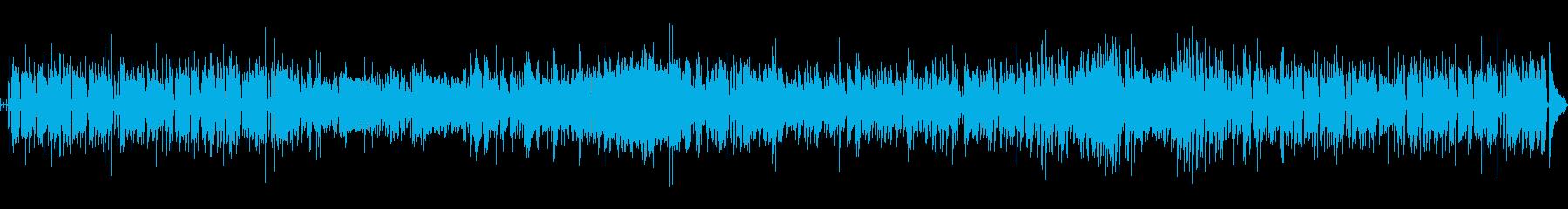 ジャズ 静か お洒落 ハイテク ア...の再生済みの波形