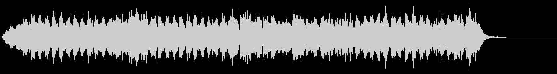 ベートーヴェン第九「歓喜の歌」インスト2の未再生の波形