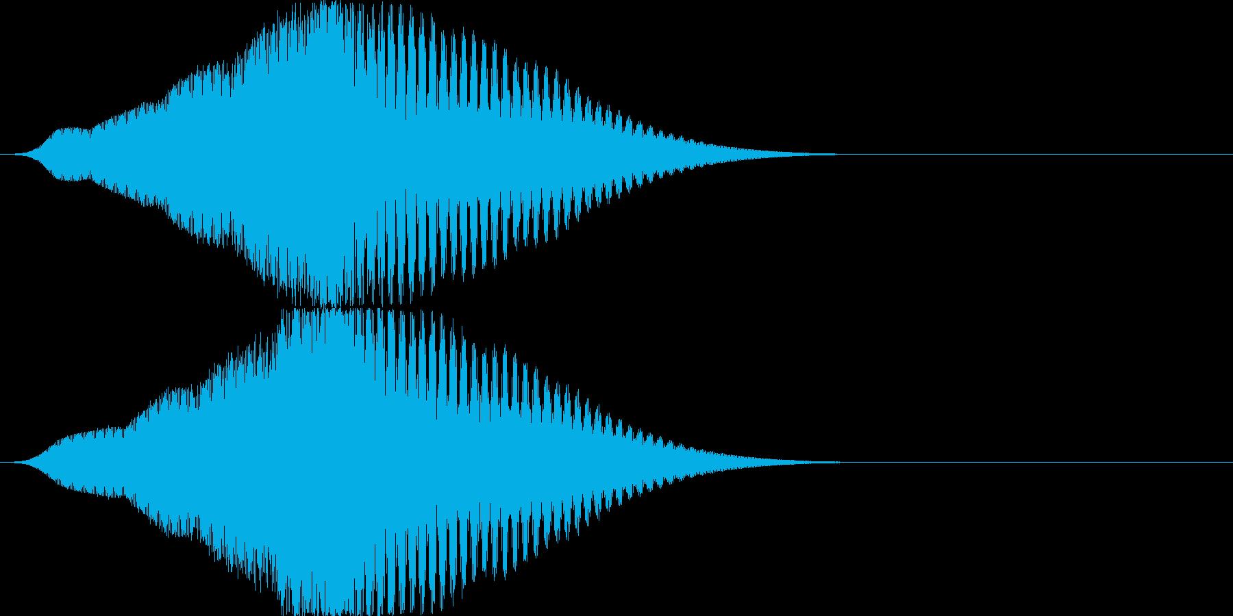 インパクト/フェード/大きくなる/重厚3の再生済みの波形