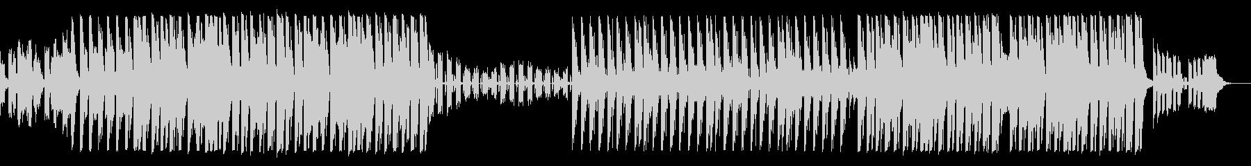可愛らしい雰囲気のピアノEDMの未再生の波形