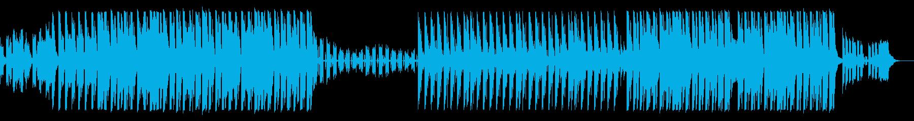 可愛らしい雰囲気のピアノEDMの再生済みの波形