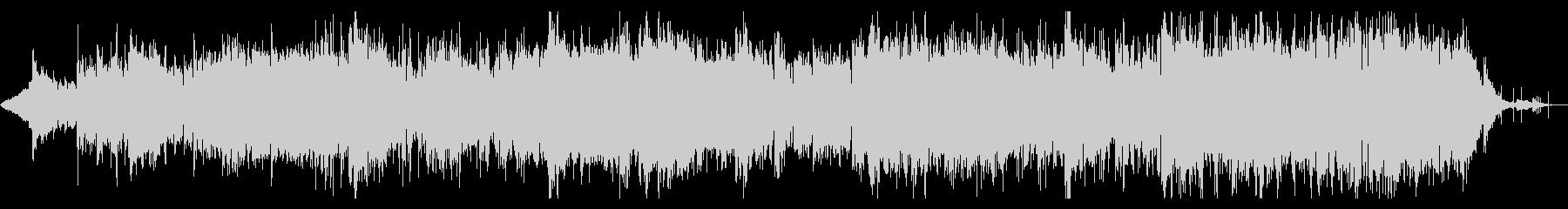 ディストピアンなシネマティックIDMの未再生の波形