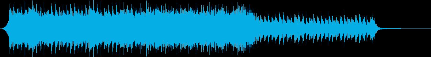 ショート版 企業VPやCMにの再生済みの波形