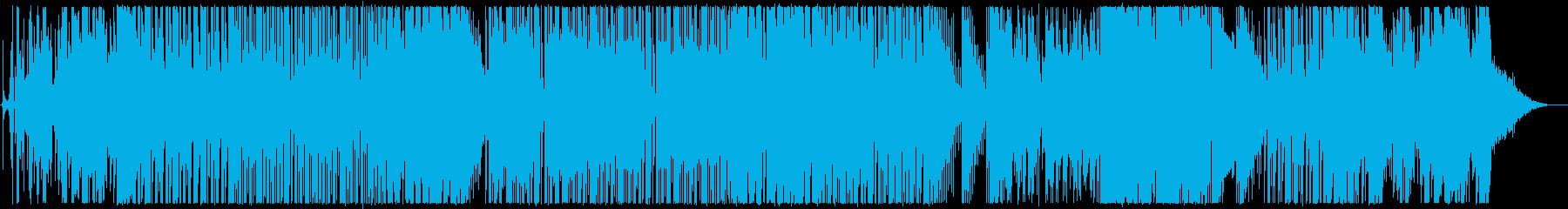 無機質な民族音楽調楽曲【生楽器あり】の再生済みの波形