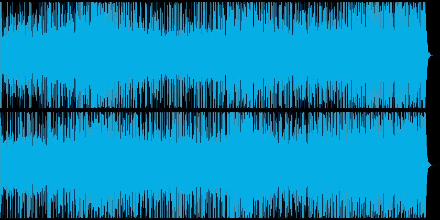 映像BGM 和風の熱い太鼓アンサンブルの再生済みの波形