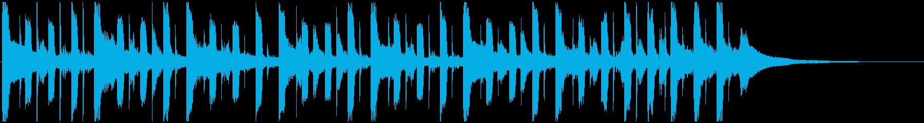 ガイダンス・オリエンテーションジングルBの再生済みの波形