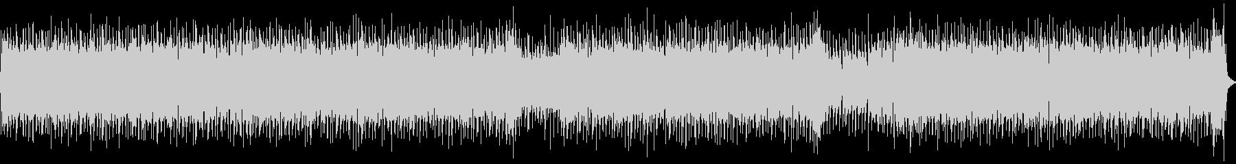 シャッフルビートのロックなリフの未再生の波形