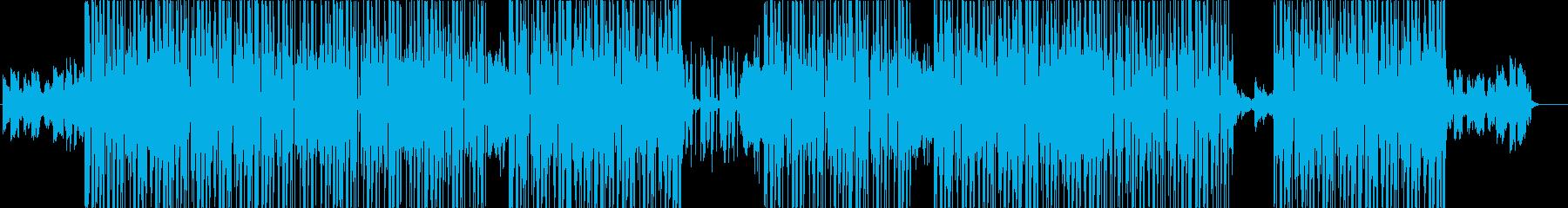 チルアウト、R&B、90sトラック♪の再生済みの波形