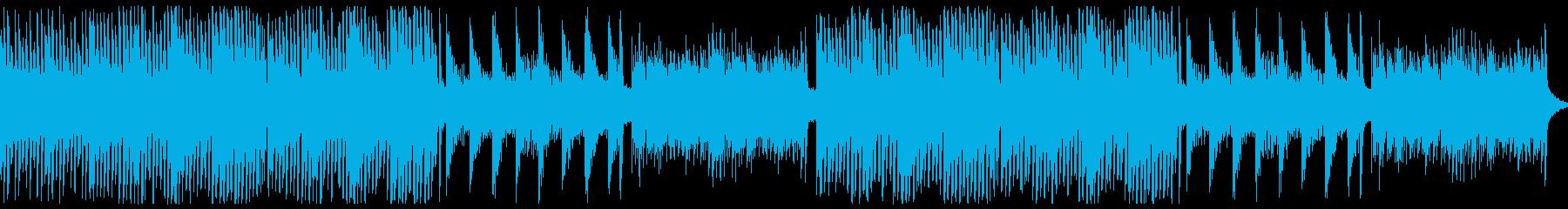 ピアノのホラー曲。3拍子の再生済みの波形