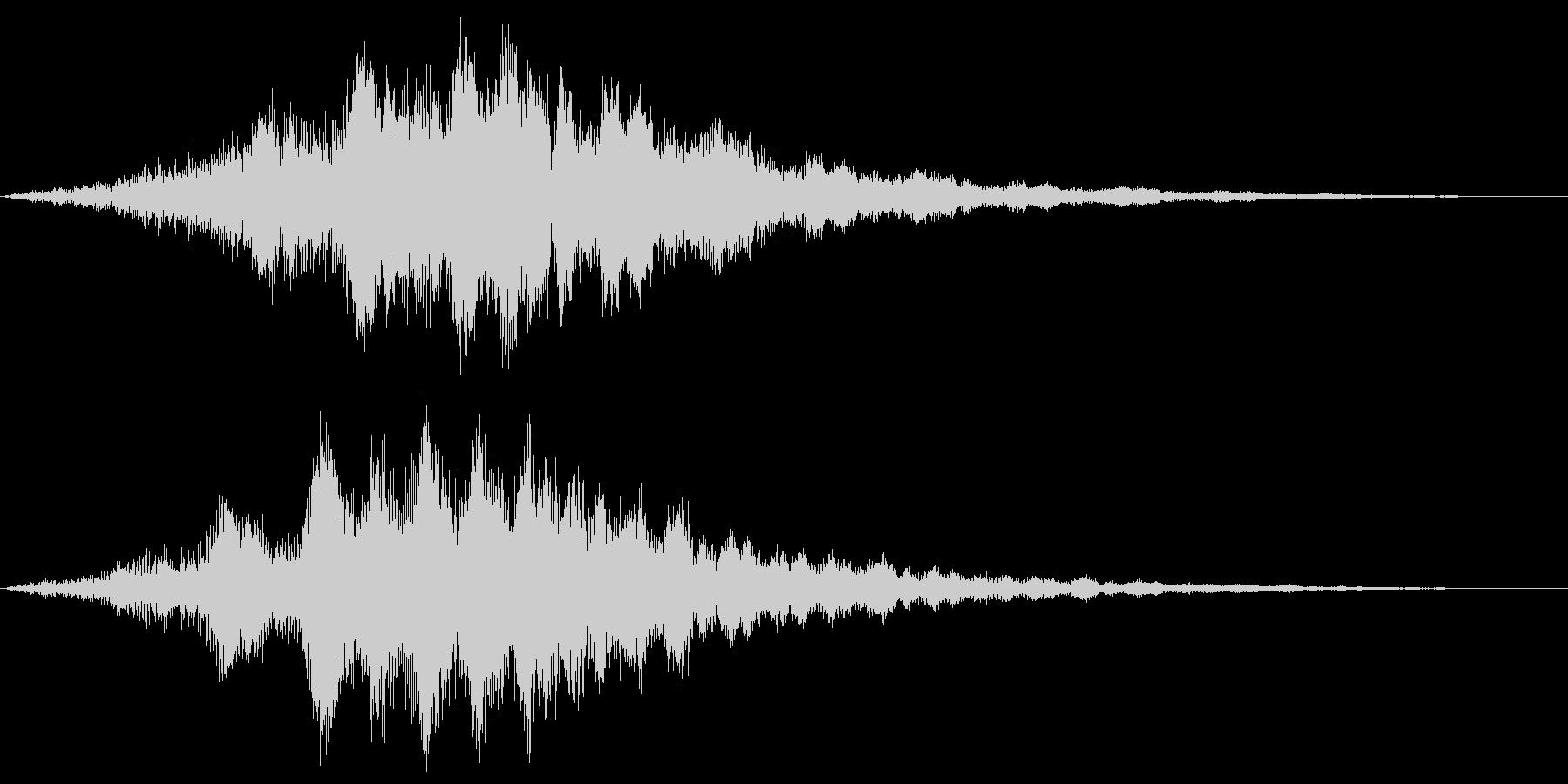 カッコイイサウンドロゴ ゲーム SNS系の未再生の波形